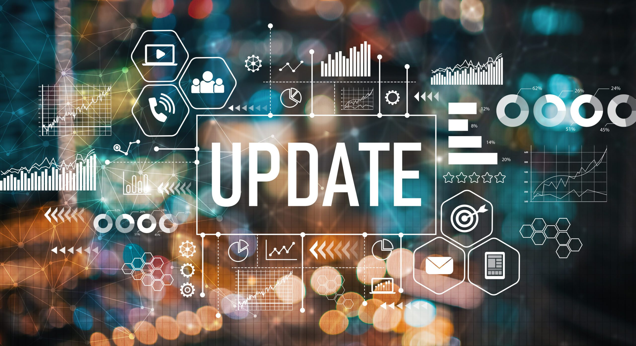 Updates to software